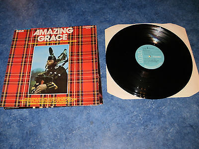 Amazing Grace   Military Band Of Scottish Division    Lp Vinyl Record  Free P&p