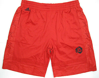 adidas ROSE Mean Short Sport Freizeit Hose Pant Shorts Rot