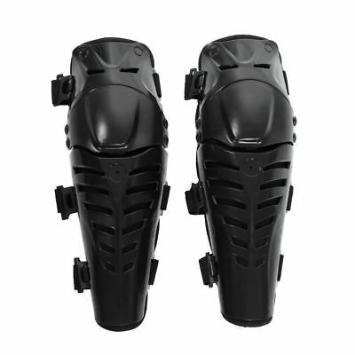 2x Motorcycle Cycling Knee Pads Kneelet Brace Shin Guards Protective Armor Set