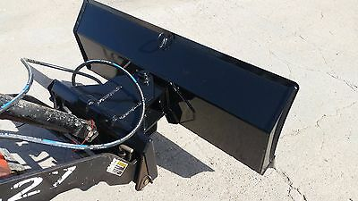 "new 52 "" 4 way dozer blade plow for mini skid steer fits Dingo, Ditch Witch"
