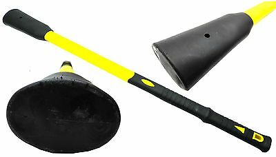 "Pick Shaft Replacement 90cm 36"" Fibreglass Pick Axe Mattock Solid Core Handle"