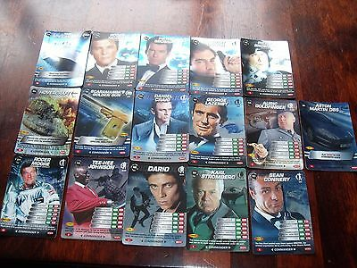 James Bond 007 Spy Cards 13 Rare & 3 Super Rare