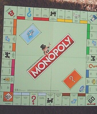 Monopoly Edition  2016 Playing Board Only