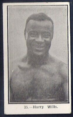 Burstein Isaacs-Famous Prize Fighters Boxing-#35- Harry Wills