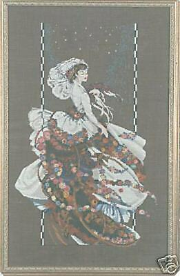 Blooming Bride Cross Stitch Chart/Pattern - Mirabilia - MD18