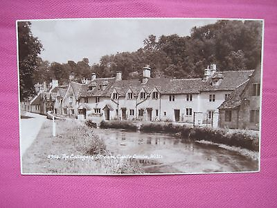 The Cottages & Stream, Castle Combe, Wilts  (posted)