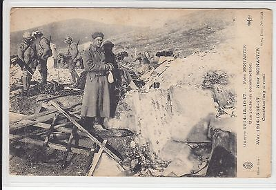 AK Bitola, Monastir, 1WW, Une route en construction 1918
