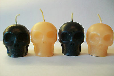 novelty skull candles/halloween/goth/rock