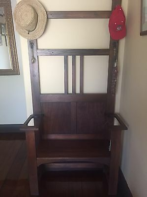 Antique Edwardian Hall Stand