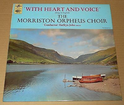 MORRISTON ORPHEUS CHOIR : With Heart And Voice - SCX 6128, 1967 UK stereo LP