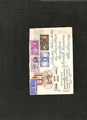Great Britain 1949 UPU Illustrated Cover