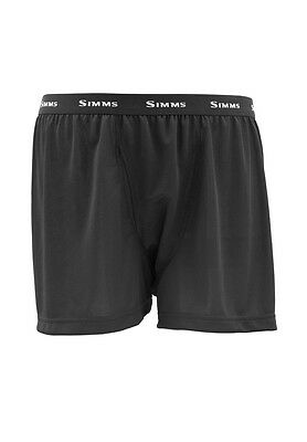 Simms WADERWICK Boxer ~ Black NEW ~ Closeout Size Small