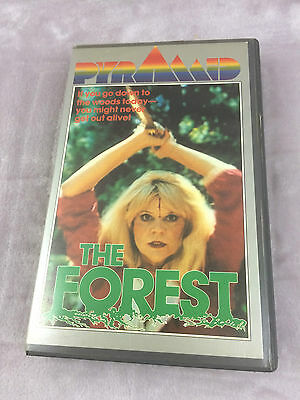 The Forest VHS Video Pyramid Productions Pre-cert