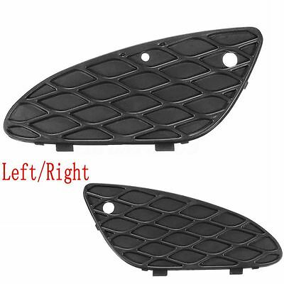 Pair Front Bumper Lower Cover Grill Left Right For Mercedes W211 E320 E350 03-06