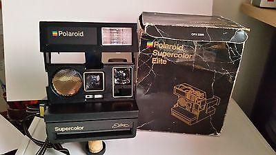 Polaroid 600 supercolor élite transparent RARE