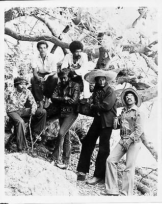 Orig 8x10 promo photo #4 of blues/roots musician and singer TAJ MAHAL, mid 1970s