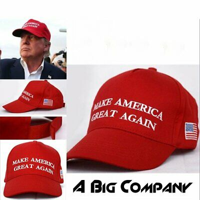 Make America Great Again ~ Donald Trump 2016~ Republican ~ Win Hat Cap Red