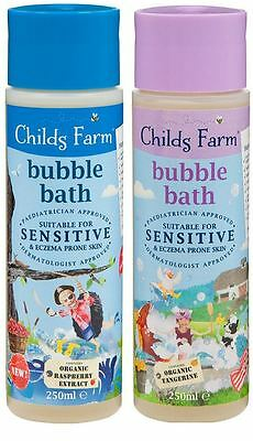 Childs Farm Bubble Bath Suitable for Sensitive & Eczema-Prone Skin