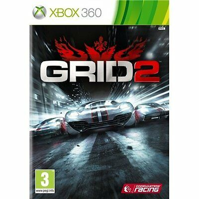 * Xbox 360 New Sealed Game * Grid 2 *