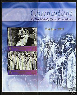 B.I.O.T. 2003 Anniv.of Coronation MS SG 284 MNH