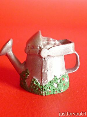 Pewter -  Watering Can Collectors thimble.
