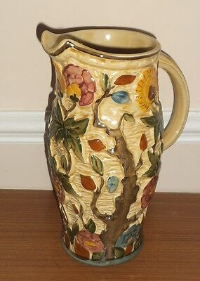H J Wood Jug - Indian Tree Pattern -  Handpainted - No 579 1769 7