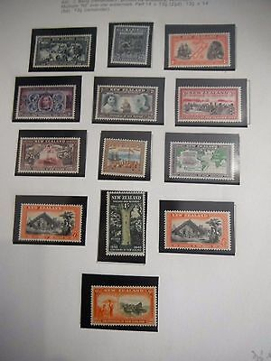 New Zealand Stamps Mnh Proclamation British Sovereignty