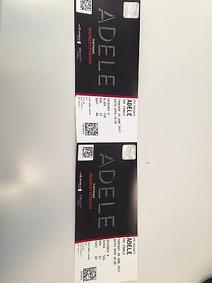 2x Adele Wembley Seated Tickets - Thurs 29th June