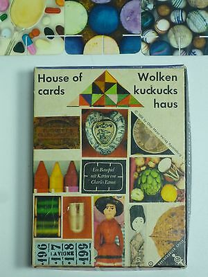 House of Cards / Wolkenkuckuckshaus, Ravensburger, design Charles Eames 1958