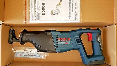 Bosch CRS180B 18 Volt Lithium Ion Cordless Reciprocating Saw Li-Ion CRS180 NEW
