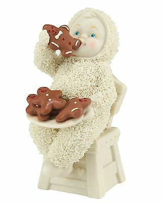Snowbabies Eating All the Gingerbread Figurine NEW in Box - 27428