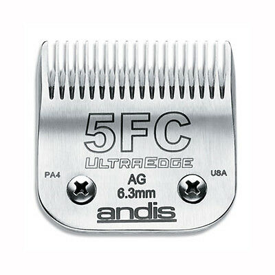 Andis Ultraedge Number #5FC/6.3mm Dog Pet Grooming Clipper Blade Snap-on System