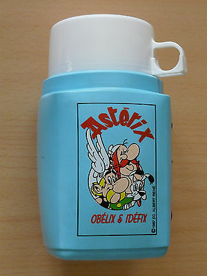 Astérix THERMOS bouteille isolante 1987 ED° ALBERT RENE TBE// gourde