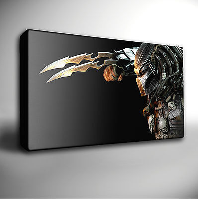 Choose Your PREDATOR Movie CANVAS Wall Art Print *Many sizes available