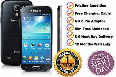 Samsung Galaxy S4 mini GT-I9195 8GB Unlocked SIM Free Smartphone (Black)