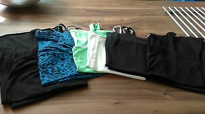 bundle of 6 summer/vest tops size 10-12