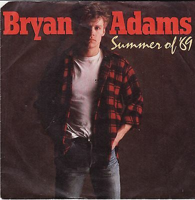 "Kult Bryan Adams - Summer Of '69 The Best Was Yet To Come German 7"" 45 PS"