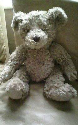 "gulliver bear by russ berrie 8"" sitting"