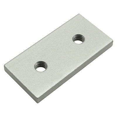 80/20 Inc Aluminum 10 Series 1/4-20 Tap Backing Plate for Retainer Part #2495 N