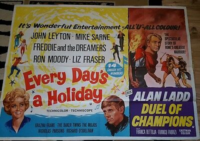 Every Days A Holiday/dual Of Champions 1965 Quad