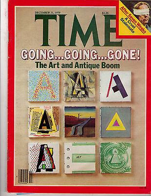 Time Magazine 1979, December 31, The Art and Antique Boom, Auctions