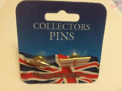 Great Britain & England Collectors Pins - Brand New And Sealed