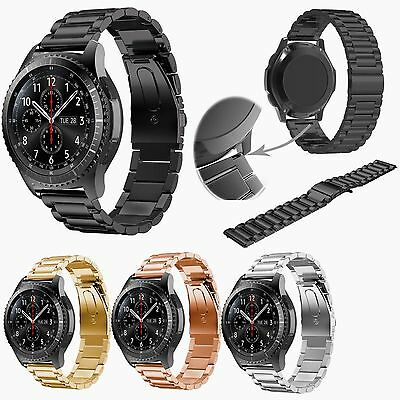 For Samsung Gear S3 Frontier / Classic Stainless Steel Watch Band Bracelet Strap