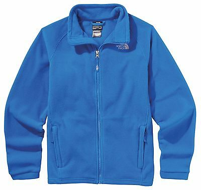 The North Face boys' Full Zip MCKHUMBU Fleece Jacket S M L