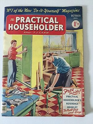 Practical Householder magazine - First ever issue October 1955