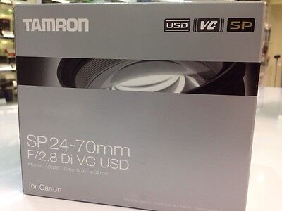 NEW Tamron SP A007 24-70 mm F/2.8 SP VC Di USD Lens CANON Mount Brand New IN UK