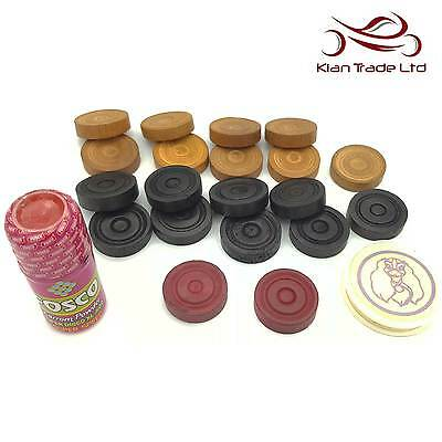 Pieces Set of 20 STC Sumo 4MM Acrylic Carrom Coins