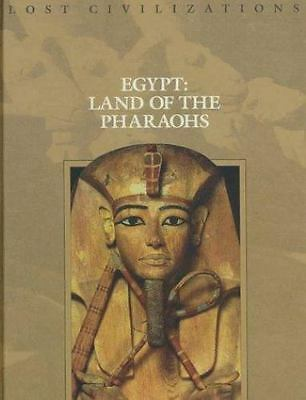 Lost Civilizations: Egypt: Land of the Pharaohs Time Life 1999 HC Very Good