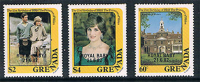 Grenada 1982 Royal Baby pt set SG 1201/5 MNH