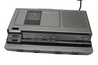 Sanyo Standard Cassette Transcribing System TRC-8030 with Pedal